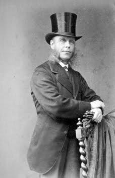 Portrait of George Henry Strutt, Mill owner, Belper