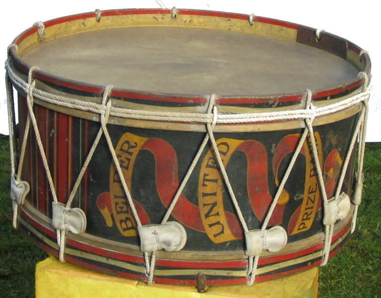 Bass Drum on side - society artefact