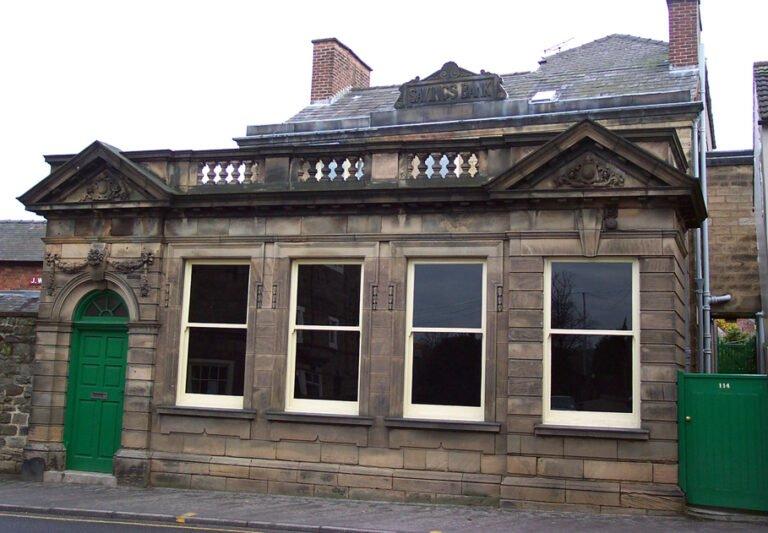 Building on Bridge Street which was old Belper Savings Bank