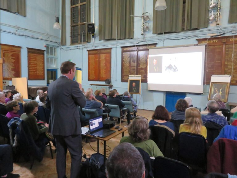 Society talk about Belper's musical links from this year's programme