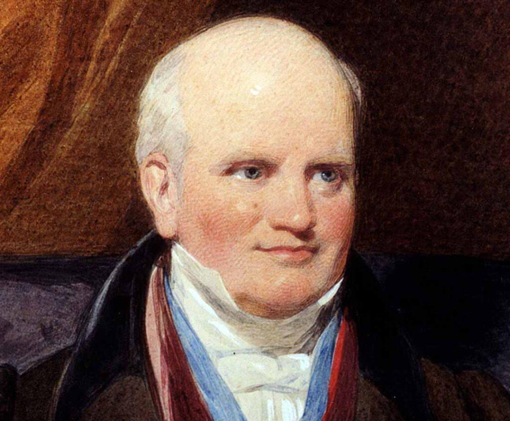 Portrait of Joseph Strutt, Belper