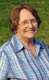Former Belper Historical Society Chair, Mary Smedley