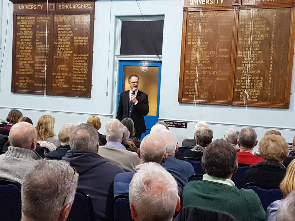 Belper Historical Society member's lecture from Charles Hanson