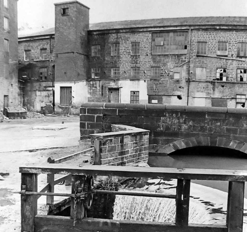Cromford Mill building 17 before renovation