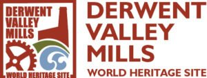 Derwent Valley Mills World Heritage Site logo for link section