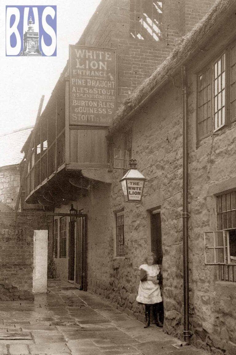 The White Lion public house, Market Place, Belper