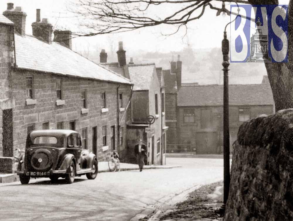 Chapel Hollow, now St John's Road