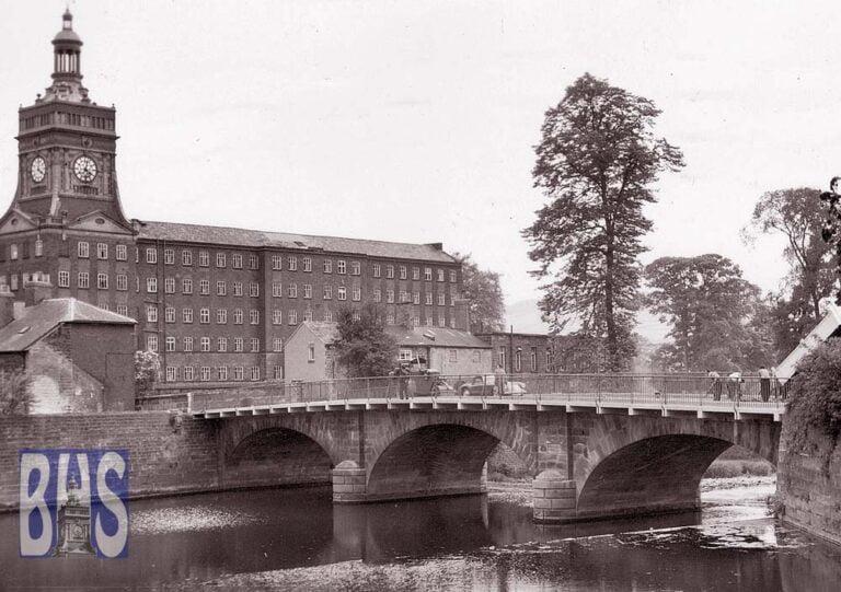Belper Bridge and mills