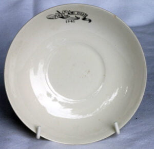 First aid post 1941 saucer