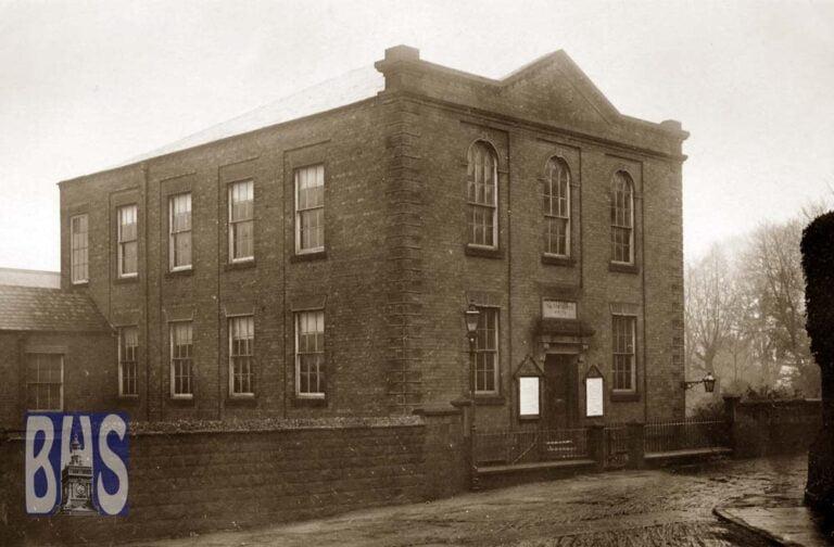Exterior of Salem Chapel, Green Lane