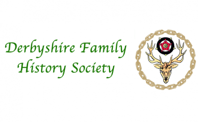 logo for Derbyshire Family History society for link section